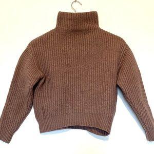 Wilfred 100% Merino Wool Crop Sweater